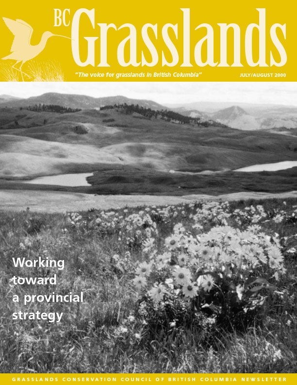 Summer 2000 - BC Grasslands - Magazine of the Grasslands Council of BC