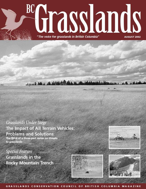 Summer 2003 - BC Grasslands - Magazine of the Grasslands Council of BC