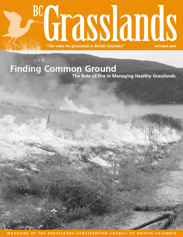 Fall 2004 - BC Grasslands - Magazine of the Grasslands Council of BC