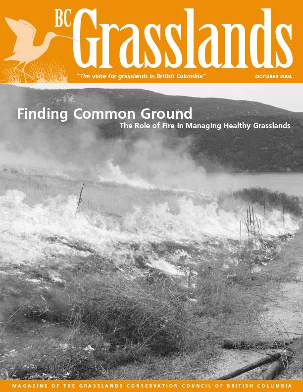 Fall 2004 - BC Grasslands - Magazine of the Grasslands Council of BC