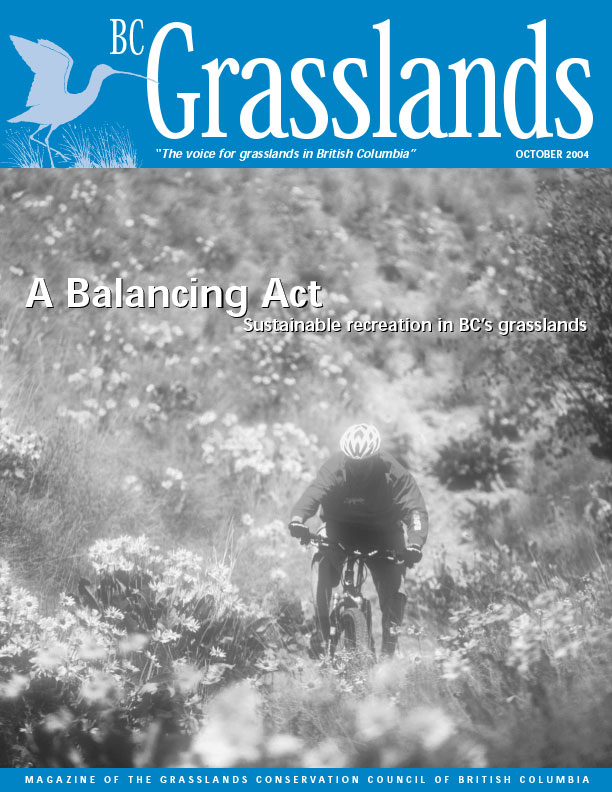 Spring 2005 - BC Grasslands - Magazine of the Grasslands Council of BC