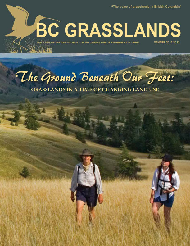 Winter 2012/2013 - BC Grasslands - Magazine of the Grasslands Council of BC