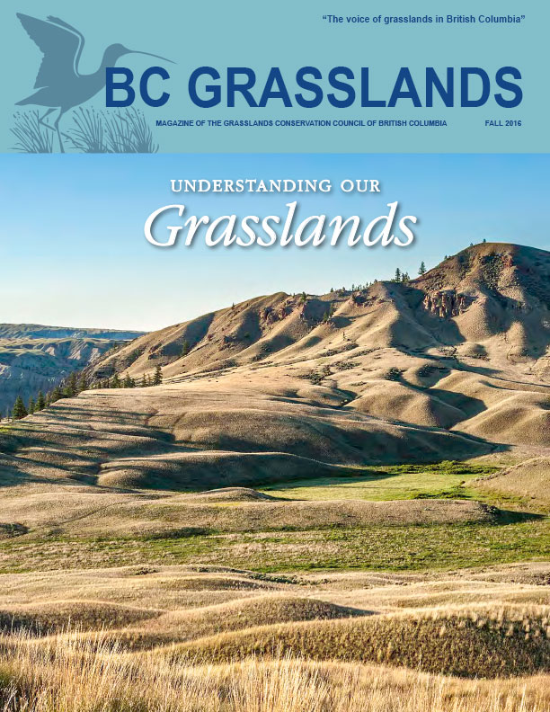 Fall 2016 - BC Grasslands - Magazine of the Grasslands Council of BC