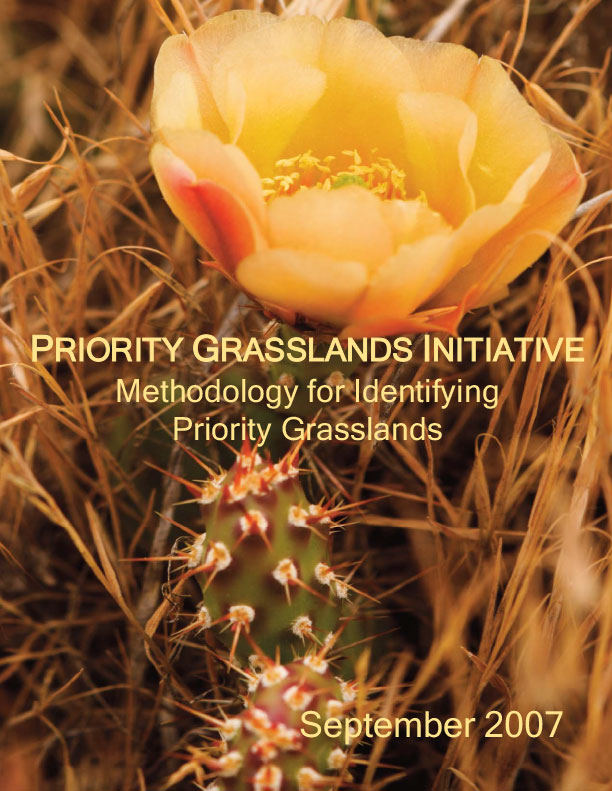 BC Grasslands - Priority Grasslands Initiative - Methodology for Identifying Priority Grasslands