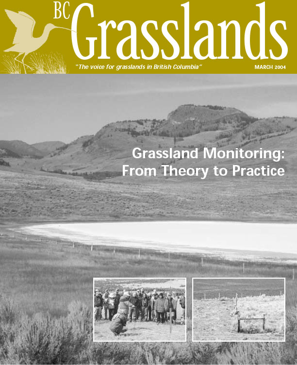 Spring 2004 - BC Grasslands - Magazine of the Grasslands Council of BC