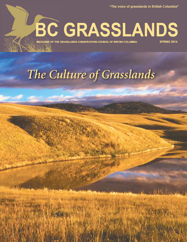 Spring 2014 - BC Grasslands - Magazine of the Grasslands Council of BC