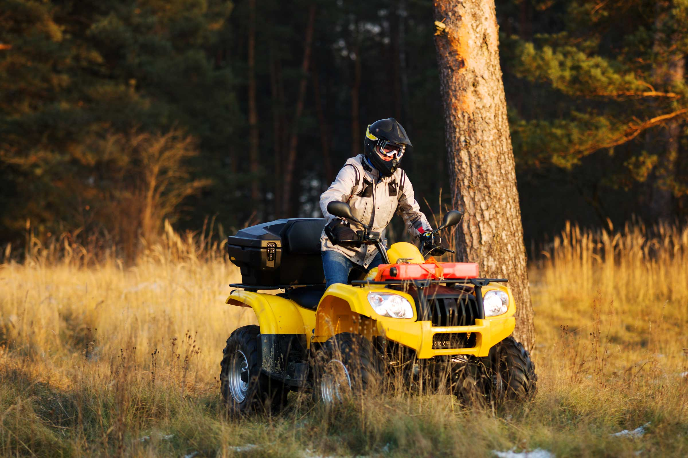Safe & Responsible use of off-road vehicles on grasslands